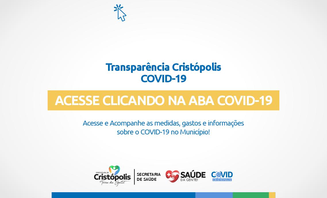 Transparência Cristópolis COVID-19